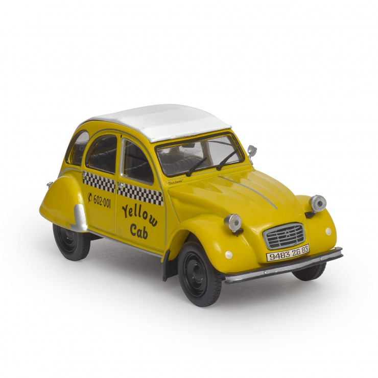 2 CV Yellow Cab