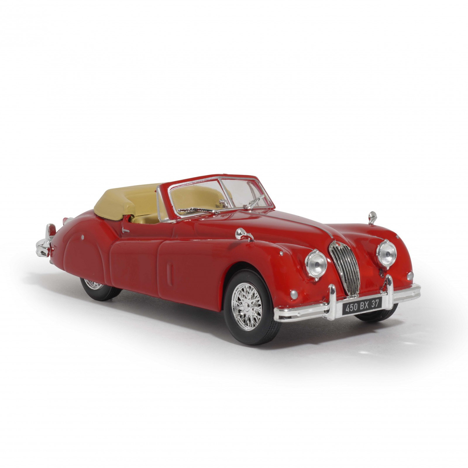 Jaguar XK140 de 1956 - Les Introuvables Hachette Collections