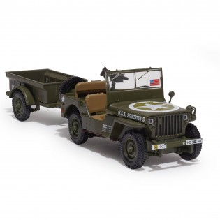 Jeep® Willys MB - échelle 1/43e