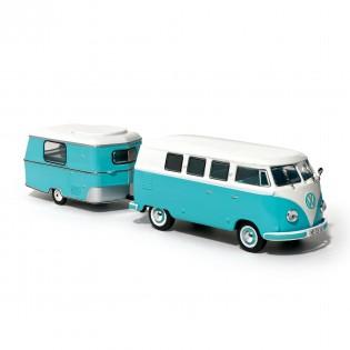 Volkswagen Kombi et sa caravane Eriba