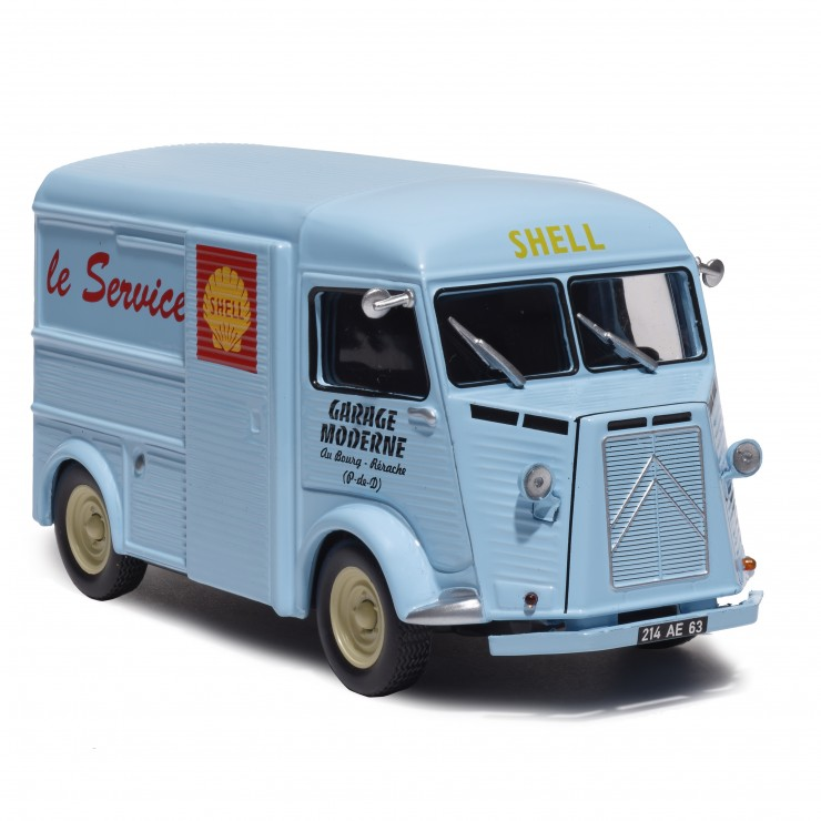 Citroën Type H logoté Shell