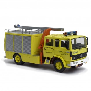 Fourgon de secours routier Camiva sur Renault JP13