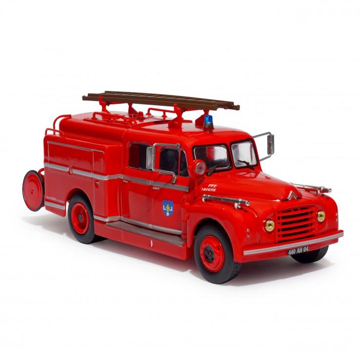 Fourgon-Pompe Tonne Pompes-Guinard sur Citroën T46 spécial incendie