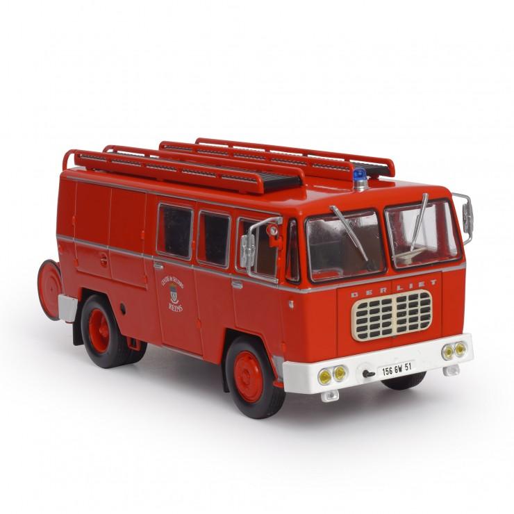 Fourgon-Pompe Mixte sur Berliet GAK17 de 1962