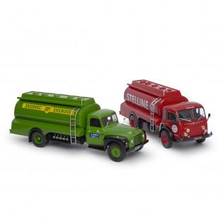 Camions-citernes Citroën T 55 BP + Renault « Fainéant » Stelline