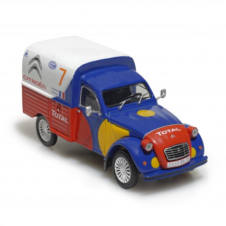 2CV Camionnette d'assistance Service Course Citroën