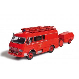 Fourgon d'incendie Gruau sur Citroën Type N SP avec MPR Camiva