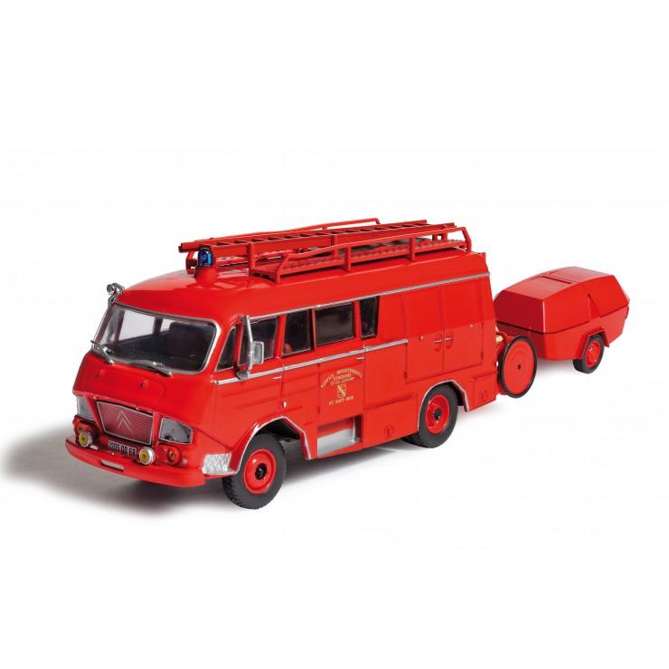 Fourgon d'incendie Gruau Citroën N avec MPR Camiva