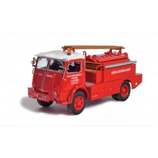 Camion citerne pour feux de forêts Berliet GLB 19 R 4x4