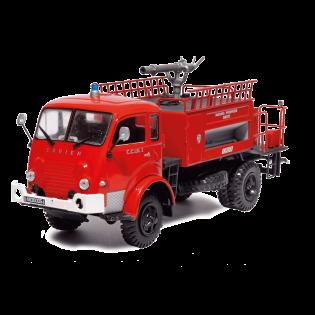 """Camion-citerne """"mousse""""Sides-Saviem desMarins-Pompiers de Brest"""
